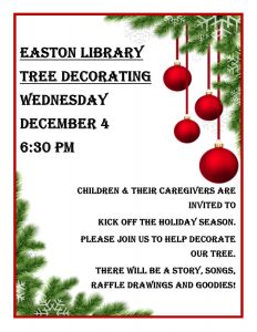 Friends Tree Trimming Party @ Easton Library